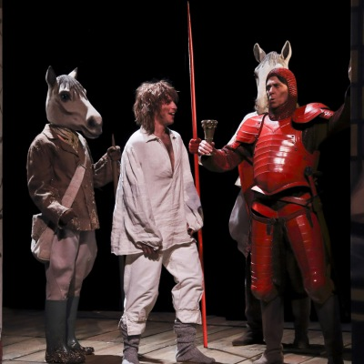 Perceval le Gallois de Florence Delay et Jacques Roubaud mise en scène Christian Schiaretti avec la complicité de Julie Brochen