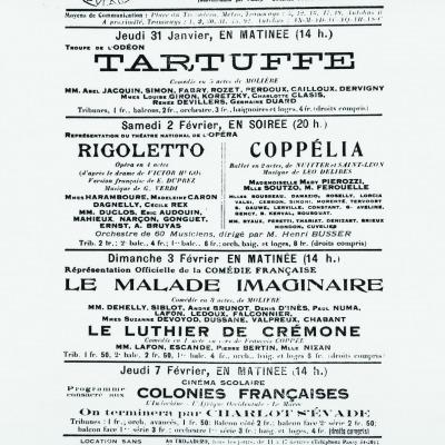 1924, Firmin Gémier