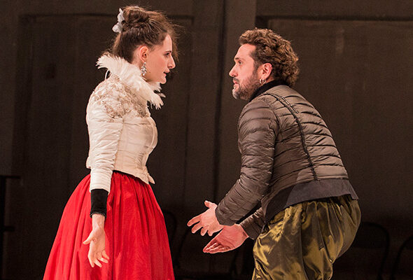 Célimène et Alceste dans Le Misanthrope de Molière