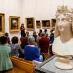 Musée des beaux-arts visite lecture autour d'un oeuvre