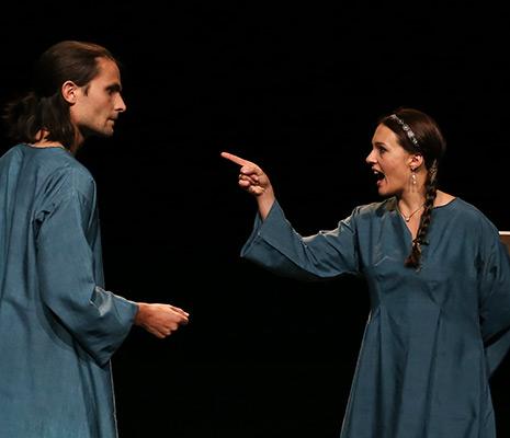 Tristan et Iseult spectacle Théâtre Lyon Avignon