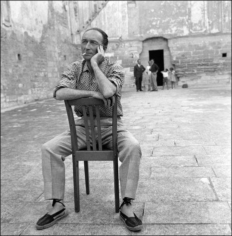 Jean Vilar à la Chartreuse de Villeneuve-lès-Avignon, Lorenzaccio (1958) - Le salut final, Macbeth (1954)