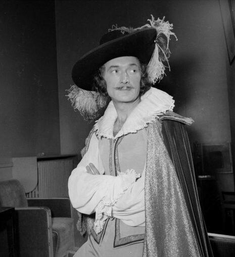 """""""Dom Juan"""" de Molière. Jean Vilar. Paris, T.N.P., décembre 1953."""