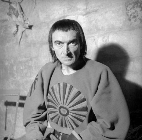Macbeth de Shakespeare. Jean Vilar. Festival d'Avignon, juillet 1954.