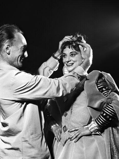 Jean Vilar et Maria Casarès, Marie Tudor (1955)