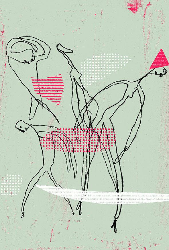 Illustration Biennale de la Danse au TNP