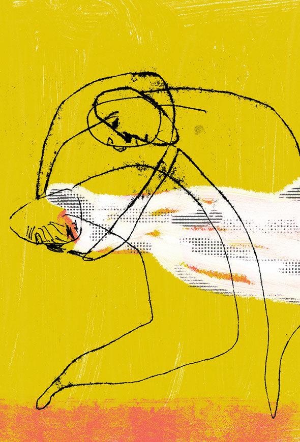 Illustration spectacle La réponse des hommes