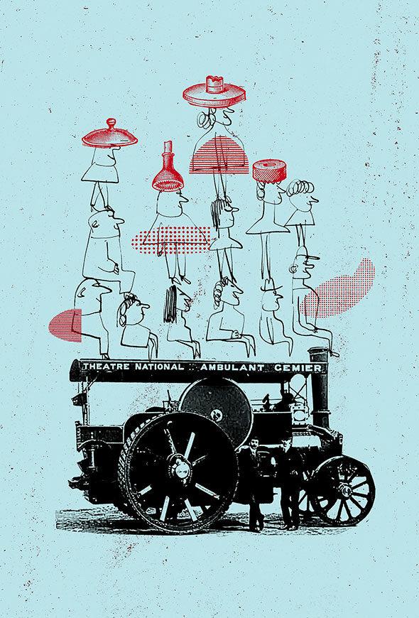 Illustration spectacle La Troupe éphémère