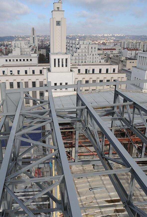 Photo de l'architecture du TNP