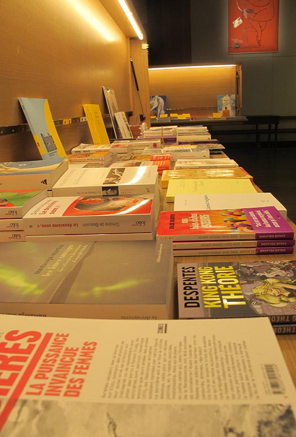 livres de la librairie du TNP