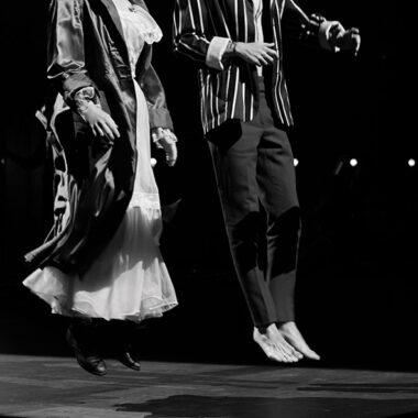 Comédiens qui sautent - photo illustrative - TNP Théâtre